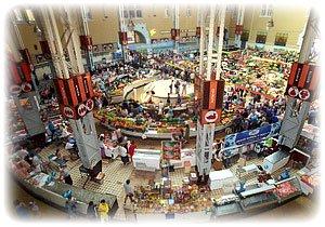 торговые ряды Бессарабского рынка