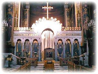 Иконостас собора святого князя Владимира